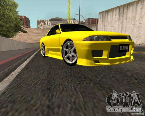 Nissan Skyline R32 Bee R for GTA San Andreas back left view
