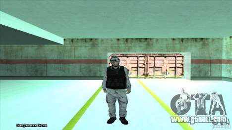 Army Soldier v2 for GTA San Andreas