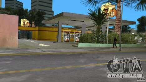 Shell Station for GTA Vice City fifth screenshot