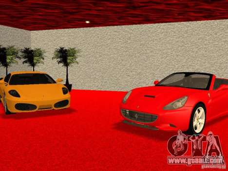 New Ferrari Showroom in San Fierro for GTA San Andreas ninth screenshot