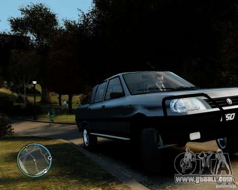 FSO Polonez Analog 4wd for GTA 4 back left view