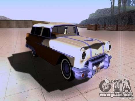 Pontiac Safari 1956 for GTA San Andreas back view
