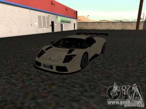 Lamborghini Murcielago R-GT for GTA San Andreas right view