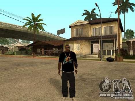 T-shirt Nike for GTA San Andreas third screenshot