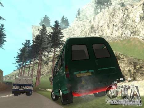 GAZ 32213 for GTA San Andreas left view