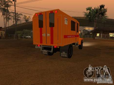 Gaz 3309; for GTA San Andreas back left view