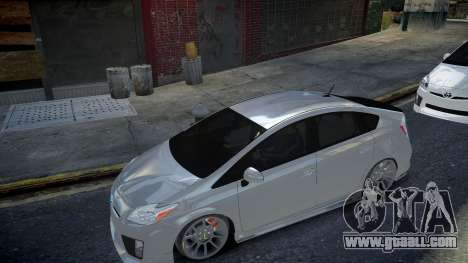 Toyota Prius III for GTA 4 back left view