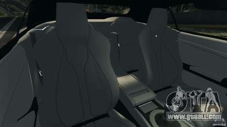 Aston Martin DBS Volante [Final] for GTA 4 inner view