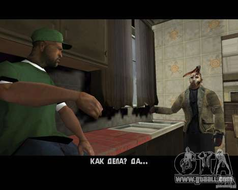Jason Voorhees for GTA San Andreas sixth screenshot