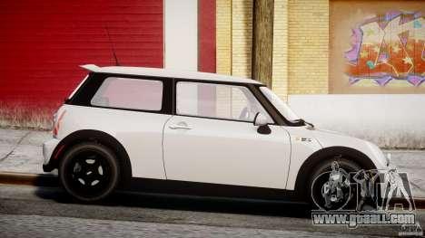 Mini Cooper S 2003 v1.2 for GTA 4 inner view