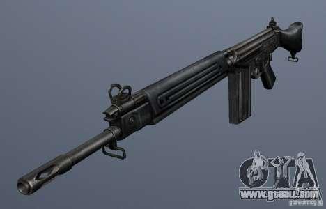 FN FAL for GTA San Andreas second screenshot