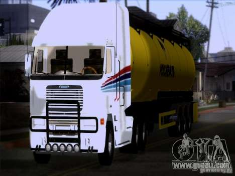 Freightliner Argosy Skin 3 for GTA San Andreas back view