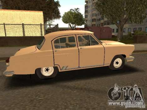 GAZ 21 Volga Taxi for GTA San Andreas right view