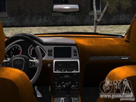 Audi Q7 V12 TDI Quattro Final for GTA 4 side view
