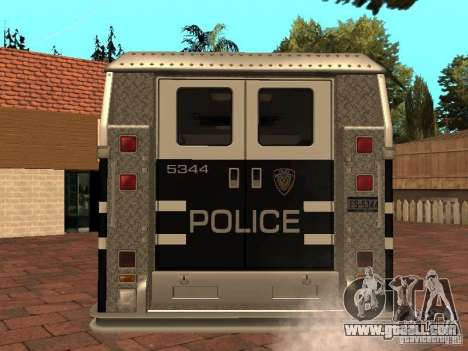 HD Seal Machine for GTA San Andreas back left view
