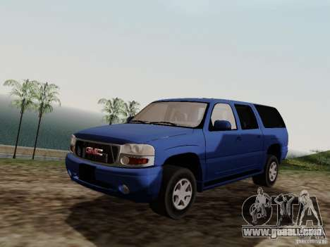 GMC Yukon Denali XL for GTA San Andreas