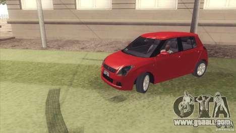 Suzuki Swift versión Chilena for GTA San Andreas
