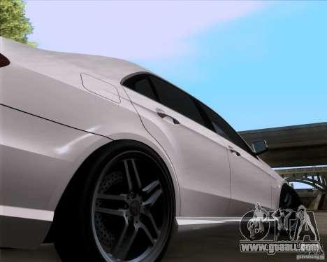Mercedes-Benz E63 AMG V12 TT Black Revel for GTA San Andreas right view