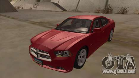 Dodge Charger RT 2011 V1.0 for GTA San Andreas