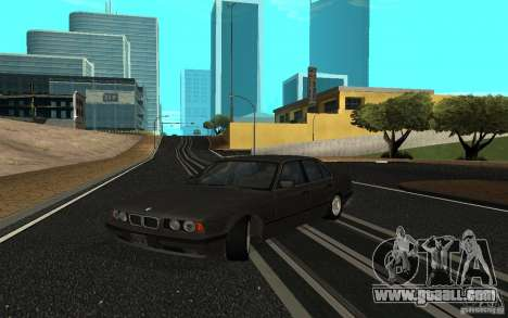 BMW 525 (E34) for GTA San Andreas left view