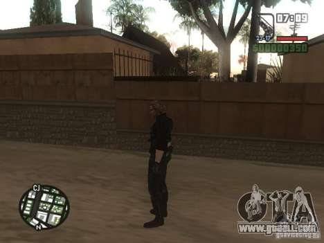 Wesker from RE5 for GTA San Andreas sixth screenshot
