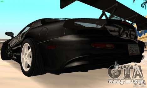 Mazda RX7 Tuned for GTA San Andreas right view
