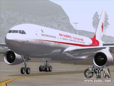 Airbus A330-203 Air Algerie for GTA San Andreas inner view