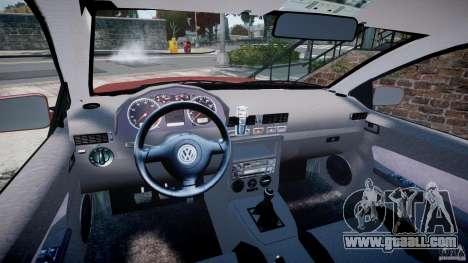 Volkswagen Bora for GTA 4 back view