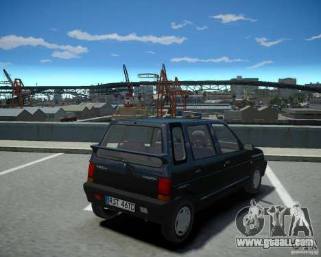 Daewoo Tico SX 1996 for GTA 4 left view