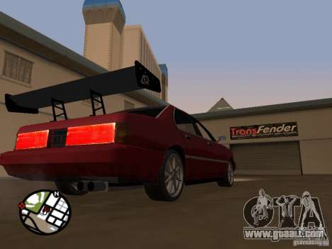 New parts for tuning for GTA San Andreas sixth screenshot