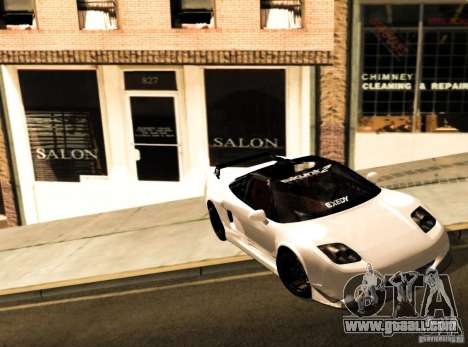 Acura NSX Tuned for GTA San Andreas left view