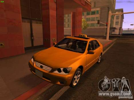 Lexus IS300 Taxi for GTA San Andreas