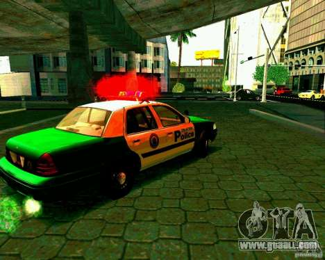 Ford Crown Victoria 2003 Police Interceptor VCPD for GTA San Andreas right view