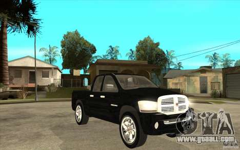 Dodge Ram 2500 2008 for GTA San Andreas back view