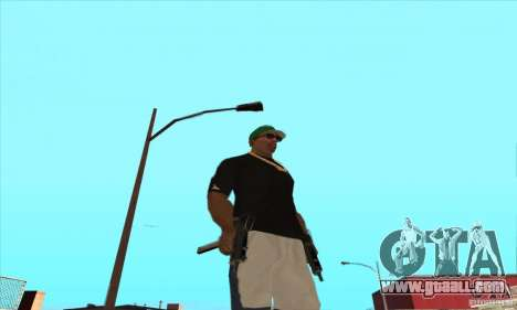 WEAPON BY SWORD for GTA San Andreas twelth screenshot