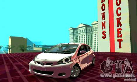 Toyota Aygo V1.0 for GTA San Andreas