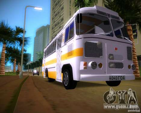 Paz-672 for GTA Vice City left view