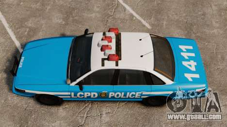 Vapid Police Cruiser ELS for GTA 4