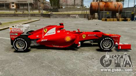 Ferrari F2012 for GTA 4 left view