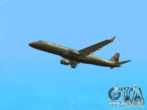 Embraer ERJ 190 Air Canada for GTA San Andreas