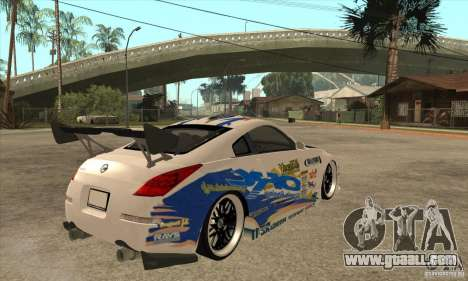 Nissan Z350 - Tuning for GTA San Andreas right view