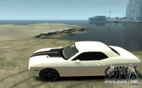 Dodge Challenger Concept for GTA 4 left view