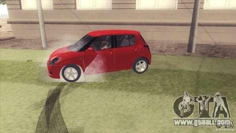 Suzuki Swift versión Chilena for GTA San Andreas right view