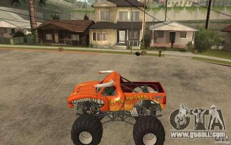 El Toro Loco for GTA San Andreas left view