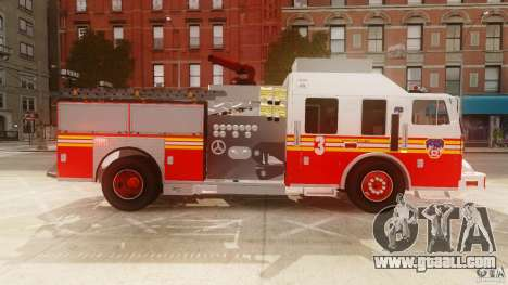 FDNY Seagrave Marauder II for GTA 4 left view