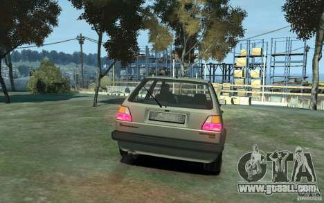 Volkswagen Golf II GTI for GTA 4 right view