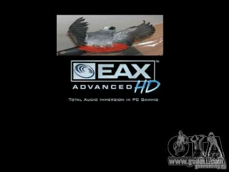 Boot screen Parrots Parrot beta for GTA San Andreas eleventh screenshot