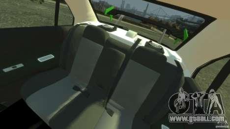 Mitsubishi Lancer Evo IX Tuning for GTA 4 back view