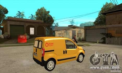 Citroen Nemo 2010 for GTA San Andreas right view