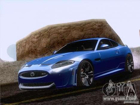 Jaguar XKR-S 2011 V2.0 for GTA San Andreas inner view